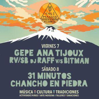 Festival Chile Mágico en Villarrica