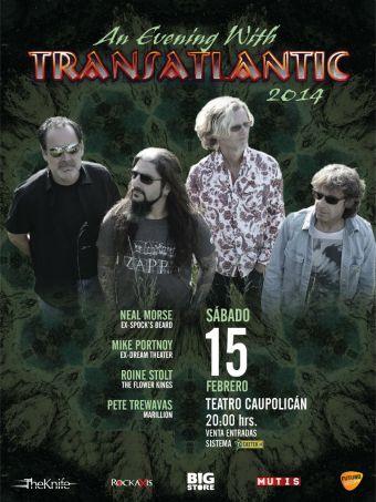 Transatlantic en Chile, Teatro Caupolicán