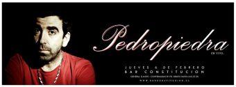 Pedro Piedra en vivo, Bar Constitución