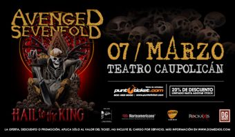 Avenged Sevenfold en Chile, Teatro Caupolicán