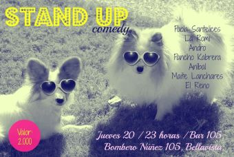 Stand up comedy en Bar 105