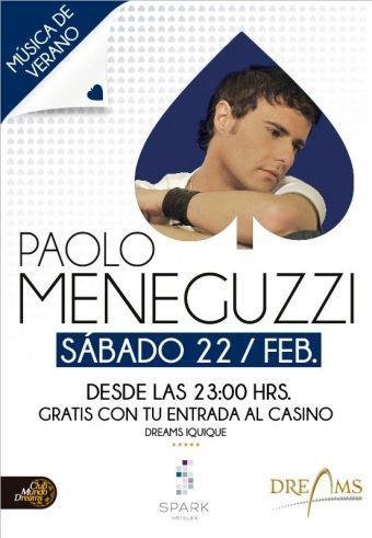 Paolo Meneguzzi en Chile, Iquique
