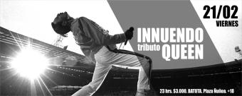 Innuendo tributo a Queen en La Batuta