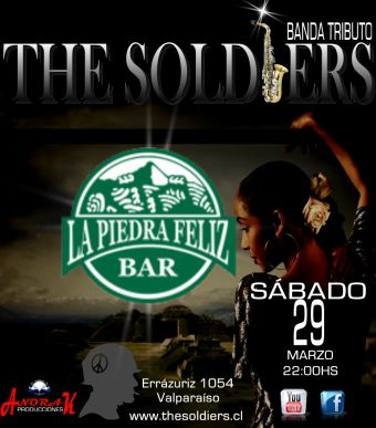 The Soldiers (Tributo a SADE) en Valparaíso