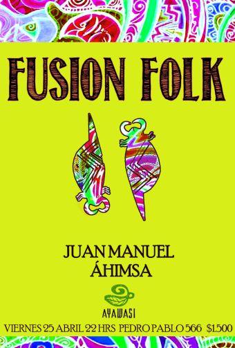 Noche de Fusión & Folk en La Serena