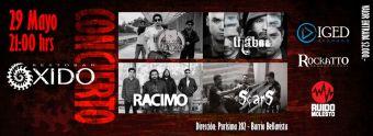 Ciclo de Rock Chileno 2014 en Bar Oxido