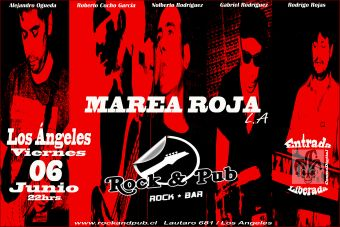 Marea Roja en Rock And Pub, Los Ángeles