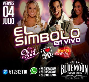 El Simbolo en Chile, Pub Blue Moon