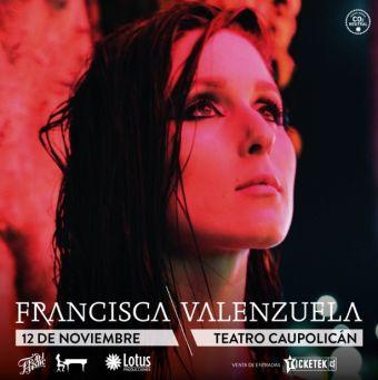 Francisca Valenzuela, Teatro Caupolicán