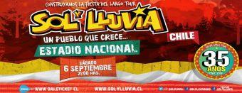 35 años de SOL Y LLUVIA, Estadio Nacional