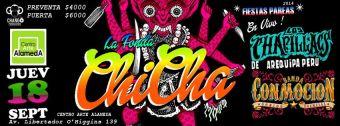 Fonda Chicha, Centro Arte Alameda - 18 de Septiembre
