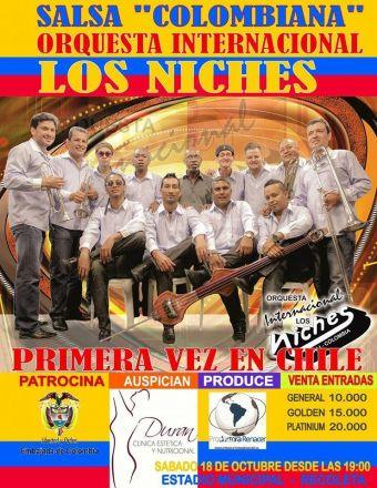 Los Niches  en Chile, Estadio Municipal de Recoleta