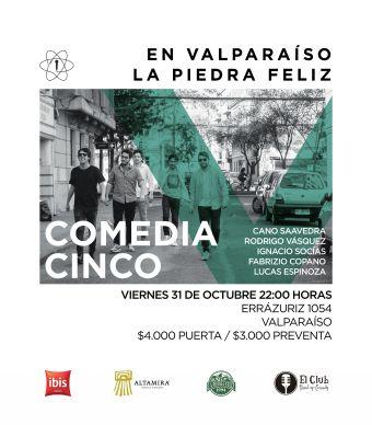 Comedia V Fabrizio Copano & Cía., La Piedra Feliz