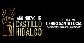 Fiesta Año Nuevo Castillo Hidalgo 2015