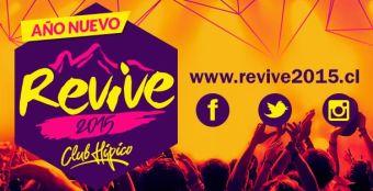 Fiesta Año Nuevo REVIVE 2015, Club Hípico