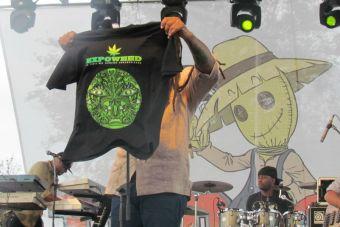 Exitoso show de Ky-Mani Marley dio término a la ExpoWeed 2014