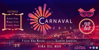 Fiesta Año Nuevo Carnaval 2015, Viña del Mar