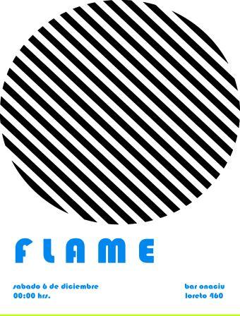 Flame en vivo, en Onaciu