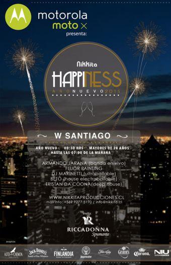 Nikkita Happiness 2015, Hotel W