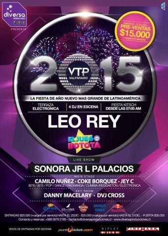 Año Nuevo VTP 2015, Valparaíso
