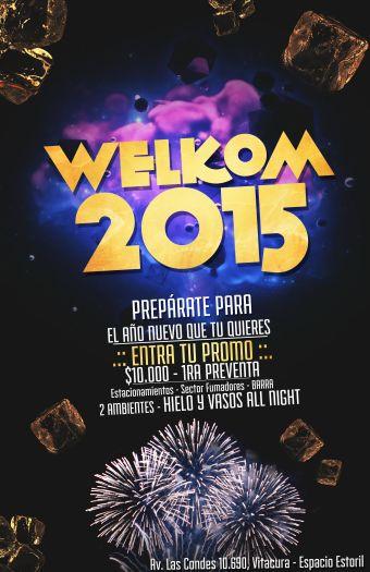 WELKOM 2015, Espacio Estoril