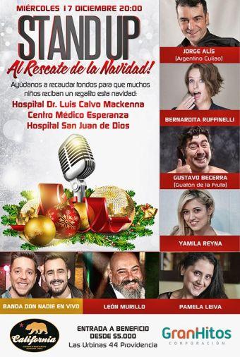 Standuperos y Don Nadie ¡Al Rescate de la Navidad!