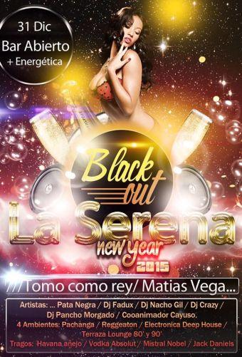 Black Out Año Nuevo 2015, Coquimbo/La Serena