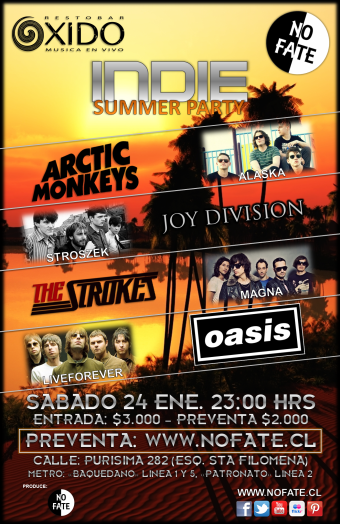 Indie Summer Party 2015, Bar Oxido