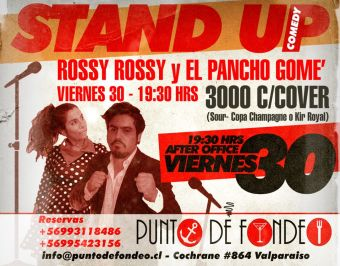 Stand Up comedy en el Puerto, Valparaíso