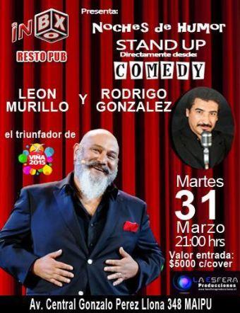STAND UP COMEDY CON LEON MURILLO