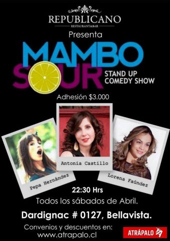 MAMBO SOUR STAND UP COMEDY