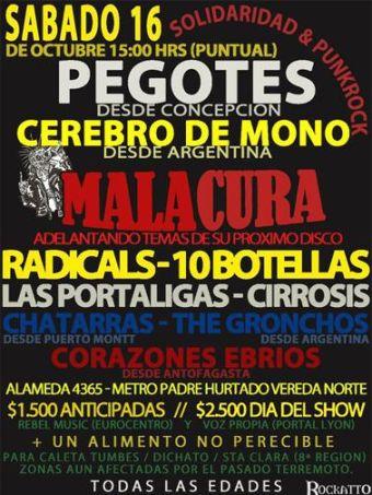 Solidaridad y Punk Rock, San Martin Club - 16/10/2010