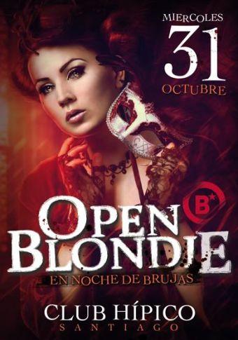 OPEN BLONDIE 2012, Club Hípico de Santiago