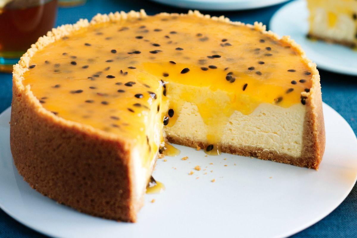 Cómo preparar torta cremosa de maracuyá - cookcina