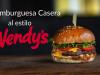 Hamburguesa triple casera al estilo Wendy's