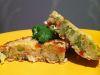 Reciclando comida: tortilla de arroz con verduritas y tocino