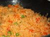 Acompañamientos: arroz a la mexicana