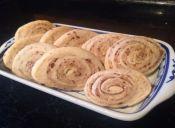 Prepara unas crujientes Galletas con forma de rollo de 2 colores