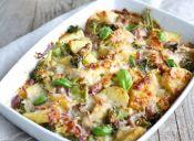 Receta vegana: ensalada de camote y brócoli con postre adicional