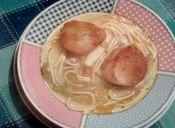 Sopas de invierno: Sopa de vegetales, choritos y pan frito