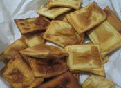 Prepara empanaditas de queso fritas