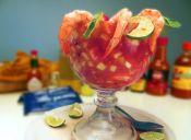 Cómo preparar un cóctel de camarones mexicano