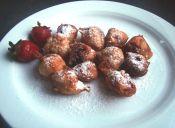 Cómo preparar buñuelos de frutillas