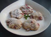 Cómo preparar scones de frutilla