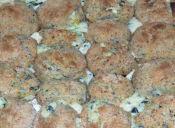 Prepara croquetas de espinacas y queso azul