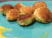 Prepara croquetas de manzana con champiñones