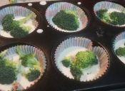 Prepara un Cupcake Brócoli