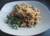 Cómo preparar una ensalada chilena de cuscús