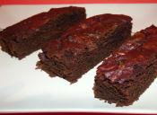 Cómo preparar un Brownie de Betarraga