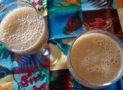 Cómo hacer un smoothie de chirimoya alegre